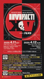 FM NORTH WAVE & WESS PRESENTS  IMPACT! XV supported by アルキタ @ 北海道札幌全6会場